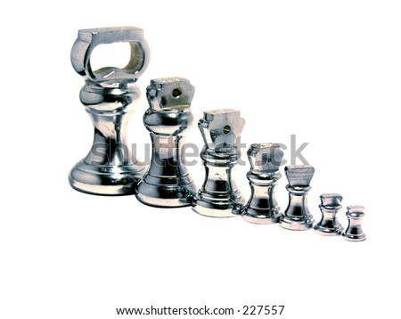 Traditional silver weights