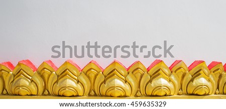 Traditional Thai style symbol - stock photo