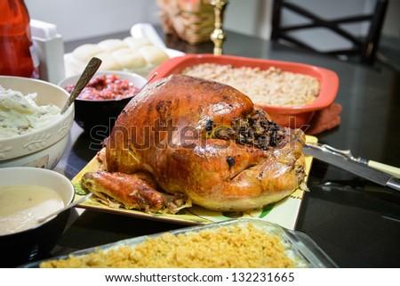 Traditional turkey - stock photo