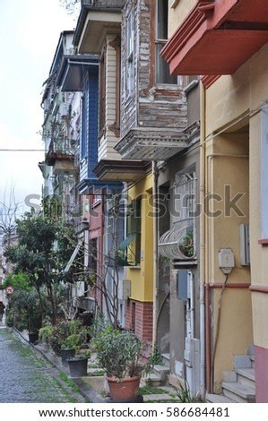 Traditional Turkish House Architecture Details