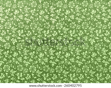 Traditional vintage flowers pattern background texture - stock photo