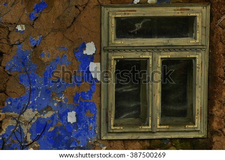 Traditional window - stock photo