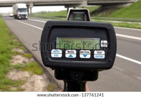 traffic control - stock photo