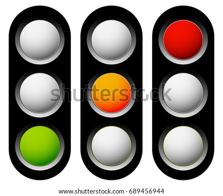 Traffic Lamp Traffic Light Semaphore Icon Stock Illustration 689456944    Shutterstock