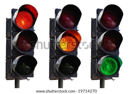 traffic-light - stock photo