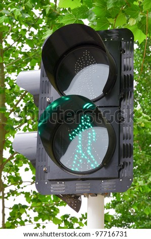 Traffic lights - stock photo