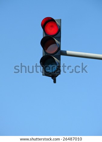 Traffic lights. To see similar images, please VISIT MY GALLERY. - stock photo