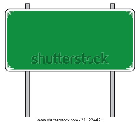traffic road sign (street sign, road sign) - stock photo
