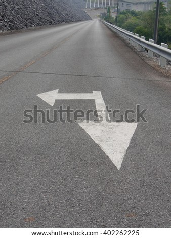 Traffic road signal for drive safety - stock photo