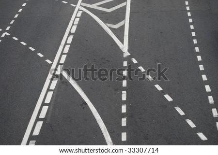 traffic sigh - stock photo