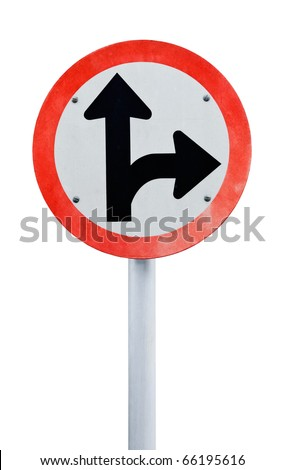 Traffic sign Pole - stock photo