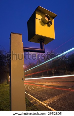 Traffic Speed Camera - stock photo