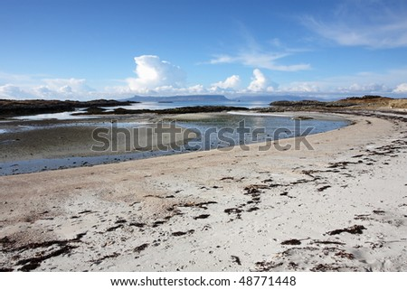 Traigh Beach in Arisaig.