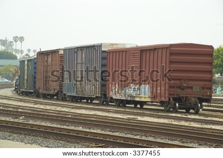 Train - stock photo