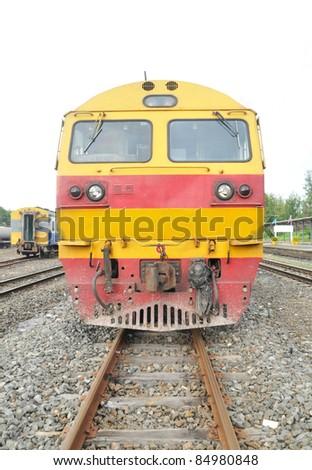 Train - stock photo