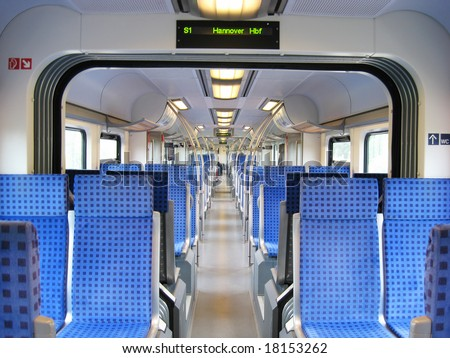 Train of German Railways - stock photo