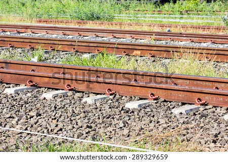Train Railway - stock photo