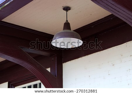 Train Station Lamp
