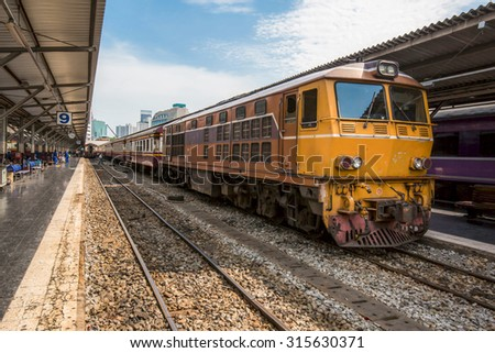 train thai - stock photo