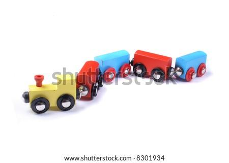 train toy - stock photo