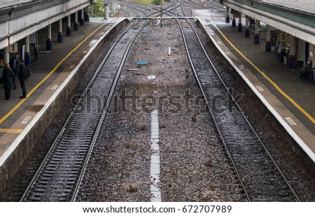 Train Tracks, England