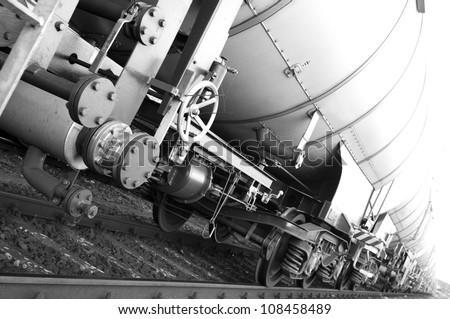 train wagons - stock photo