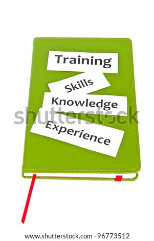 Training and education concept