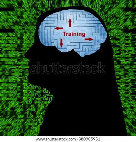 Training in mind - stock photo