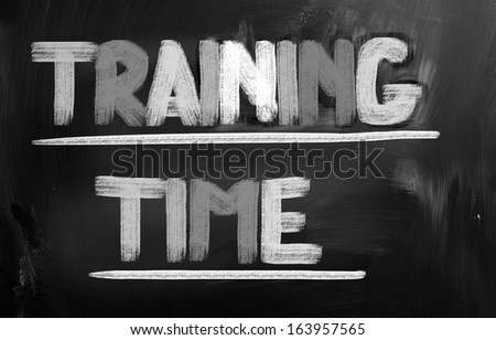 Training Time Concept - stock photo