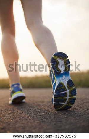 Training woman and healthy lifestyle - stock photo