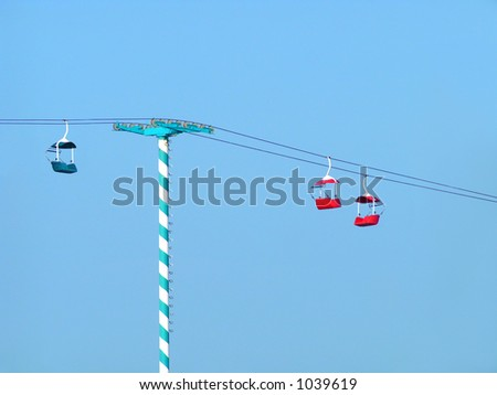 Tram Ride at Daytona Beach Florida - stock photo