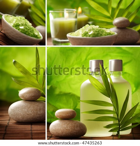 tranquil SPA - stock photo