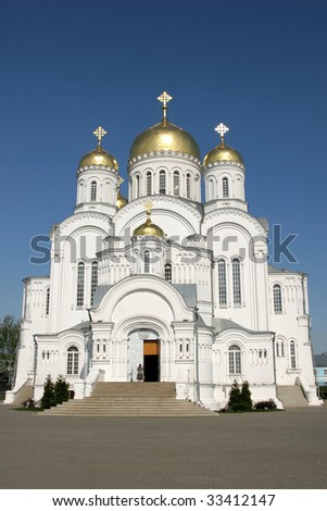 Transfiguration cathedral - stock photo