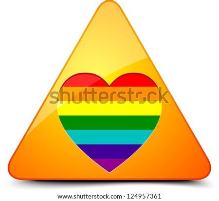 Transgender Hazard - stock photo