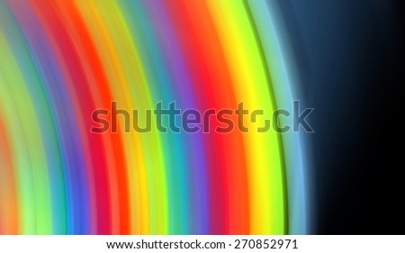 transition colorful rainbow, high contrast abstract background - stock photo