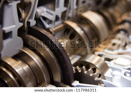 transmission - stock photo