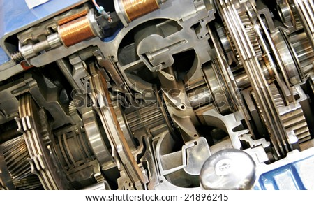 Transmission - stock photo