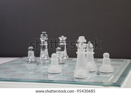 transparency chess game