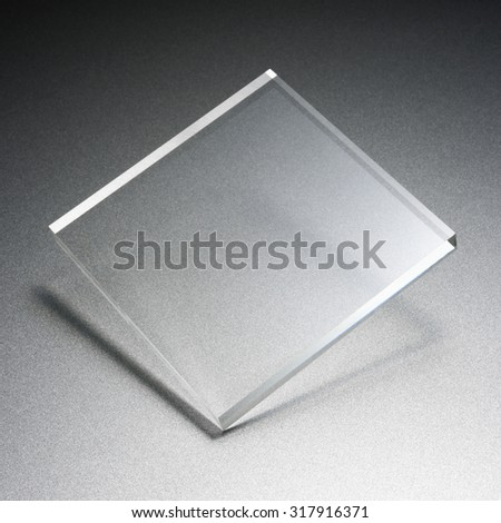 transparency plate abstract
