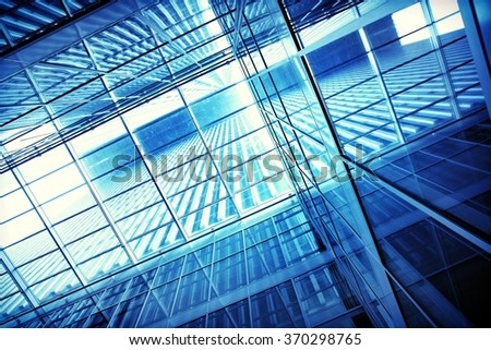 transparent building structure      - stock photo