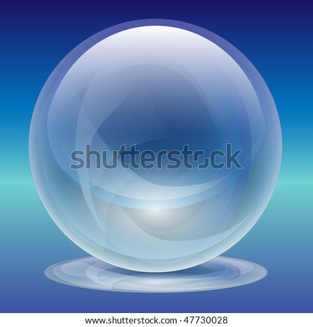 Transparent Glass Sphere-Pearl-Ball