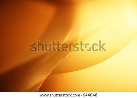 Transparent lights geometry. Abstract photo of technical paper - stock photo