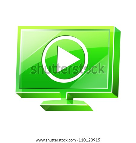Transparent to the 3d icon - stock photo