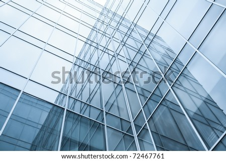 transparent windows texture of glass high tech modern building