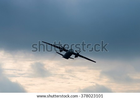 transport airplane