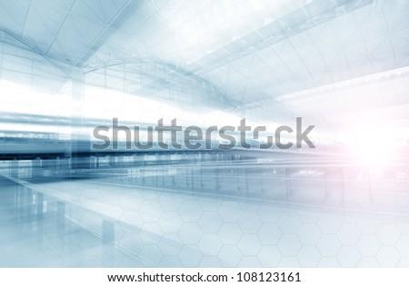 Transport Terminal - stock photo