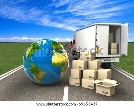 Transportation - stock photo