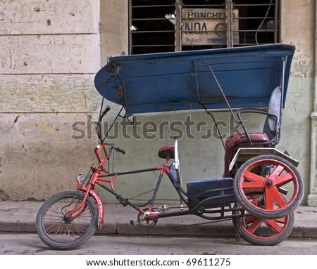 transports in habana - stock photo