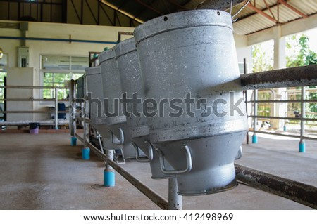 Transports Raw milk to the embodiment cooperatives.                        - stock photo