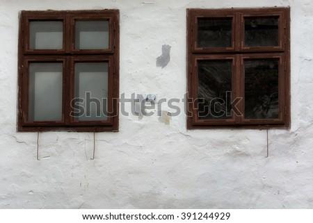Transylvania, Romania. Image from  Viscri, UNESCO heritage site, german landmark in romanian country. - stock photo